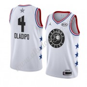 Camisetas NBA Baratas Indiana Pacers 2019 Victor Oladipo 4# Blanco All Star Game Swingman..